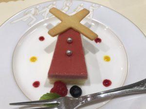 デザート赤い風車
