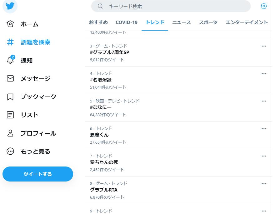 愛ちゃんの死Twitter
